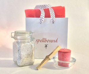 Gift Bag, Ritual, Handwritten Spell
