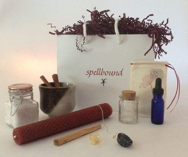 Manifestation Bag, Ritual, Handwritten Spell