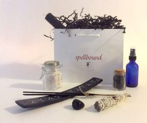 Protection Bag, Ritual, Handwritten Spell