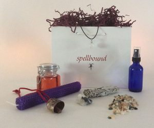 Wish Bag, Ritual, Handwritten Spell